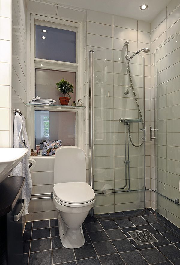 Very small bathroom for the home pinterest for Very small baths for small bathrooms
