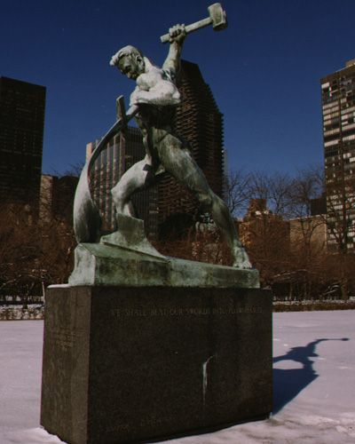 united nations sculpture garden ...