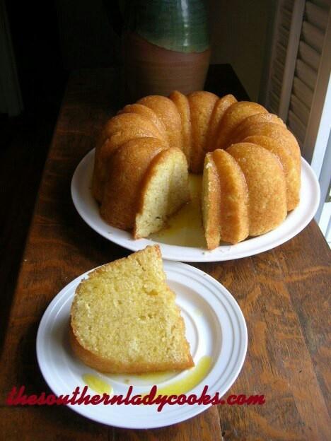 Butter rum cake | desserts | Pinterest