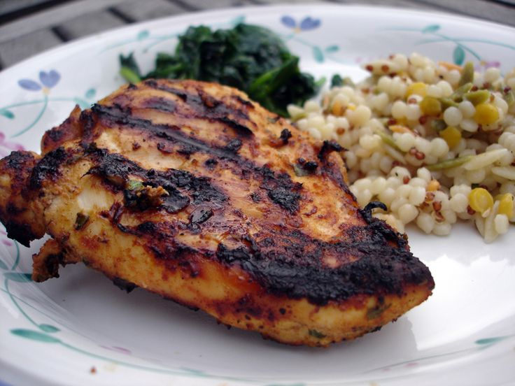 Moroccan Spiced Grilled Chicken Breasts | Grillin' | Pinterest