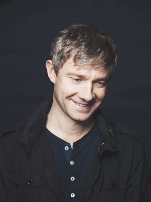 Martin Freeman everyone's favorite hobbit. And Watson.