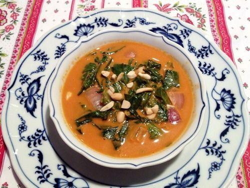 ... Peanut Soup http://cookieandkate.com/2013/west-african-peanut-soup