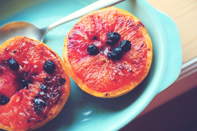 broiled grapefruit | l love cook and food | Pinterest
