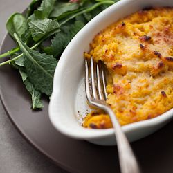 Creamy Twice Baked Butternut Squash Puree with Sage
