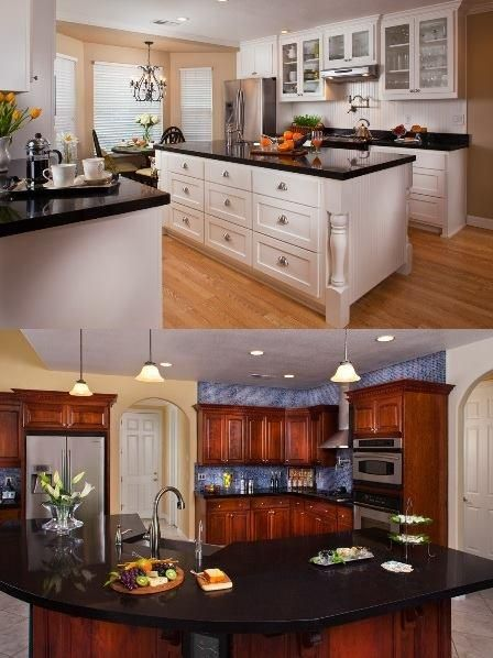 light cabinets versus dark! What?s your preference for your kitchen