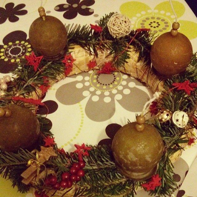 advent wreath | craft ideas & decorations | Pinterest