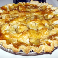 Apple Pie by Grandma Ople - Top with Syrup Mixture Before Baking