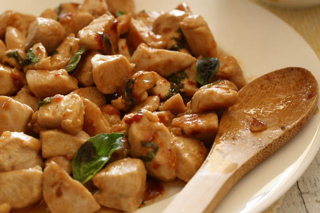 Spicy Basil Chicken | Tasty Bites | Pinterest