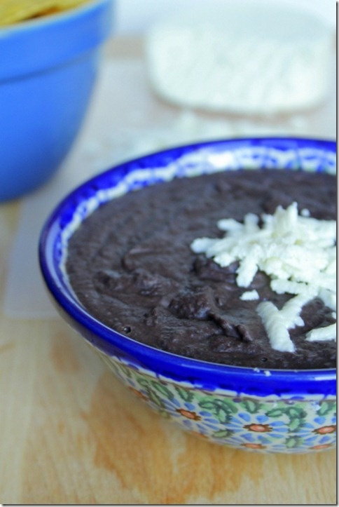 Refried Black Beans | Mexican Dinners | Pinterest