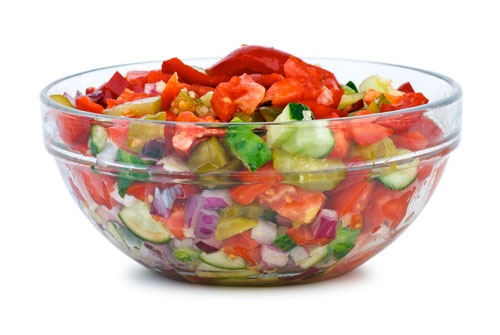 "White House Salad For AThe Biggest Loser"" Recipe — Dishmaps"