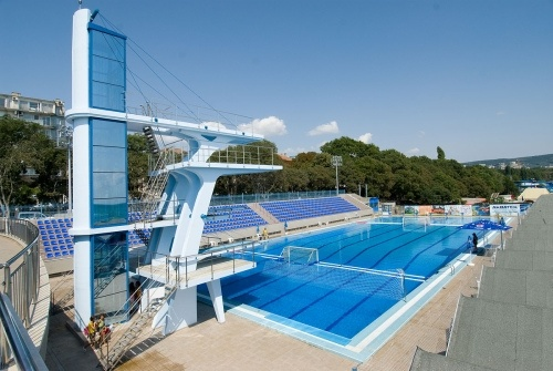 Olympic size swimming pool and random swimming pools pinterest - Olympic size swimming pool dimensions ...