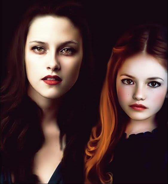 Bella and Renesmee Cullen fanart | Anything Twilight, New ...