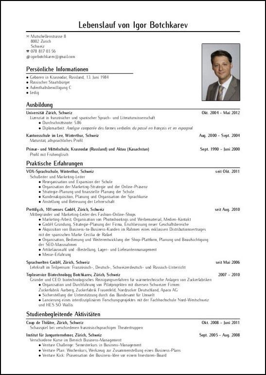 curriculum writing template | datariouruguay