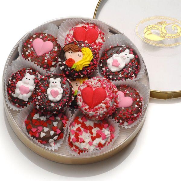 valentine's day oreo cookies