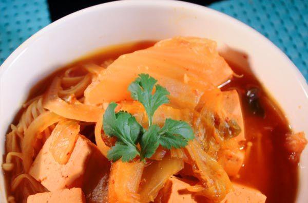 Kimchi Tofu Soup   Nasoya   Tofu   Pinterest