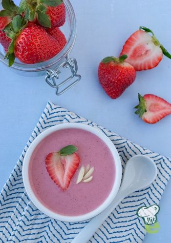 try this refreshing chilled strawberry soup. This perfect spring soup ...