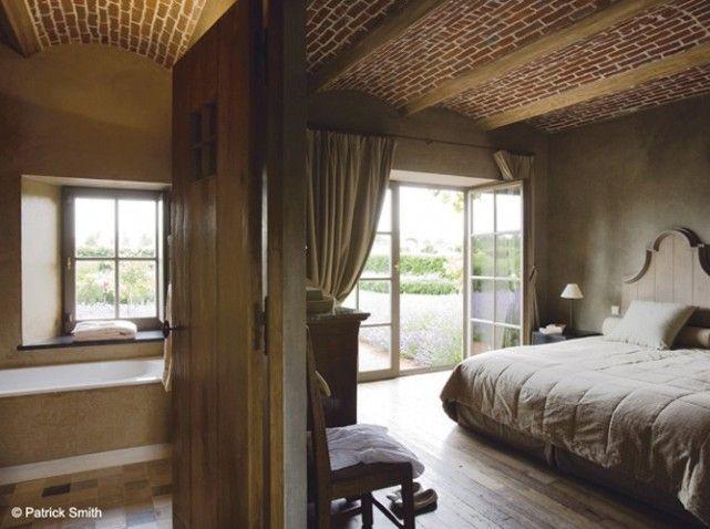 Deco Salon Gris Et Bois : Suite parentale beige  House Design  Bedrooms  Pinterest