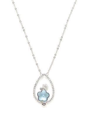 Swarovski Jewelry Roller Coaster Pendant Necklace