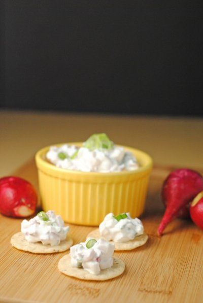 creamy radish dip with greek yougurt | Advocare/Clean Eating | Pinter ...