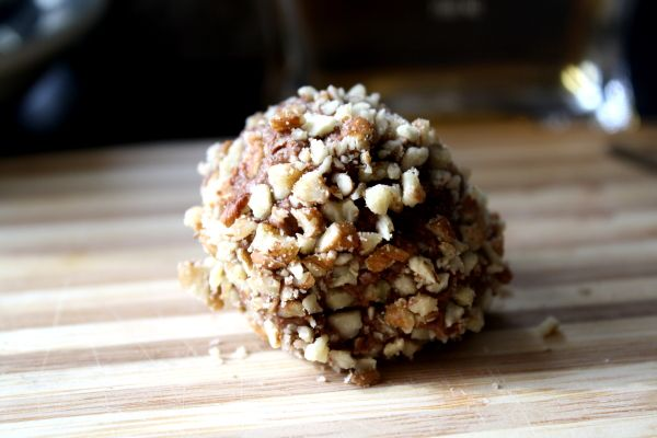 Paleo chocolate bourbon balls. Stop. Just stop it.