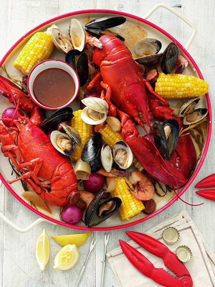 Stovetop Clambake | Seafood | Pinterest