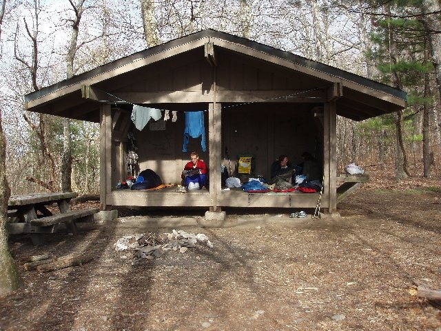 With you deer lick shelter on appalachian trail can