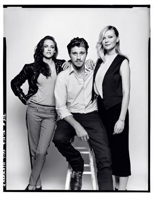 Kristen Stewart -Garrett Hedlund - Kristen Dunst - Casting  quot Sur la    Garrett Hedlund And Kirsten Dunst Tumblr