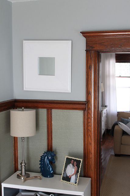 Why i 39 ll never paint our wood trim for Paint colors for wood trim