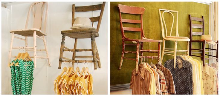 Up cycled chairs