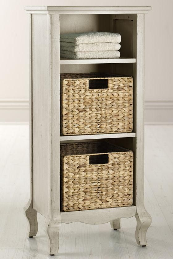 storage with baskets linen cabinets bathroom cabinets bath