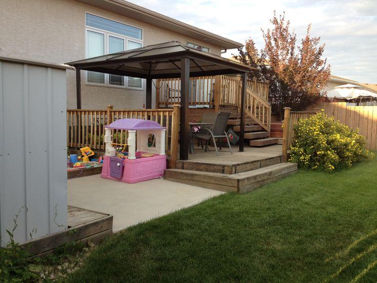 Multi Level Patio Decks : multilevel deck  Garden Views  Pinterest