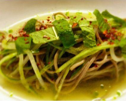 Cold Cucumber Noodle Soup | Recipe