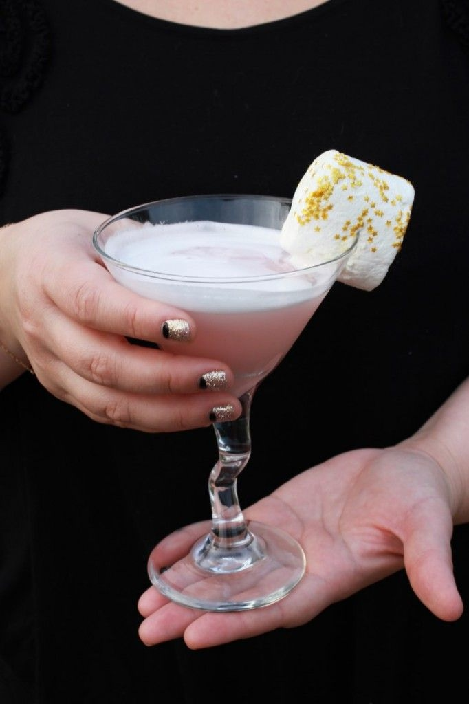 Fluff Cocktail | strawberry infused vodka and recipe for marshmallow ...
