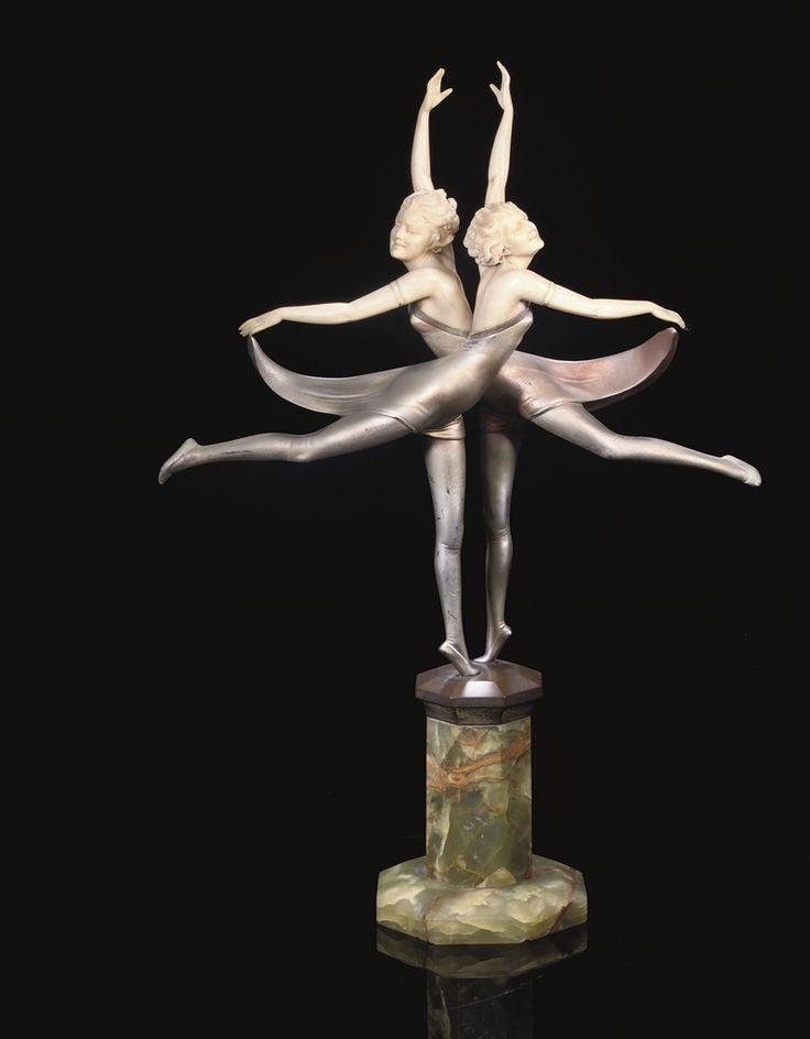 PROFESSOR OTTO POERTZEL - BUTTERFLY DANCERS, CIRCA 1925