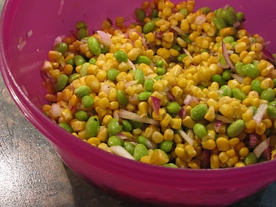 Corn, Edamame, and Avocado Salad | Creative Avocados | Pinterest