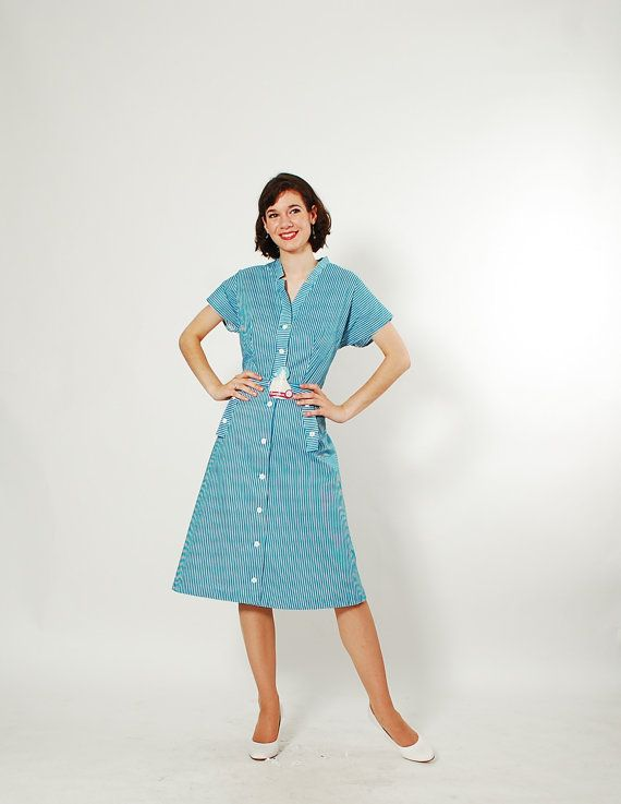 Vintage 50s dress 1950s dress the good wife for Classic 50s housewife