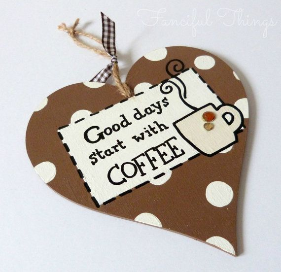 Large Hanging Heart Funny Quote Sign Good by FancifulThingsEtsy, £6 ...