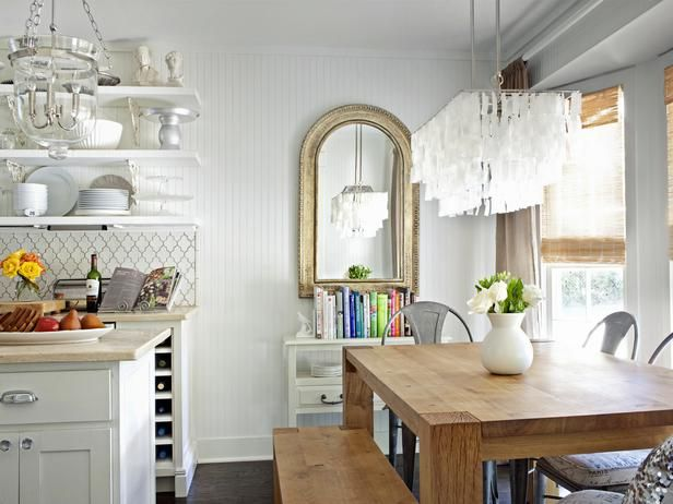 the perfect dining/kitchen rooms