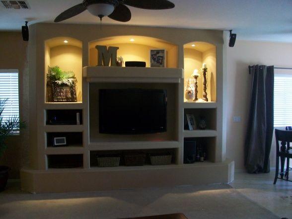 built in entertainment center home interior designs pinterest