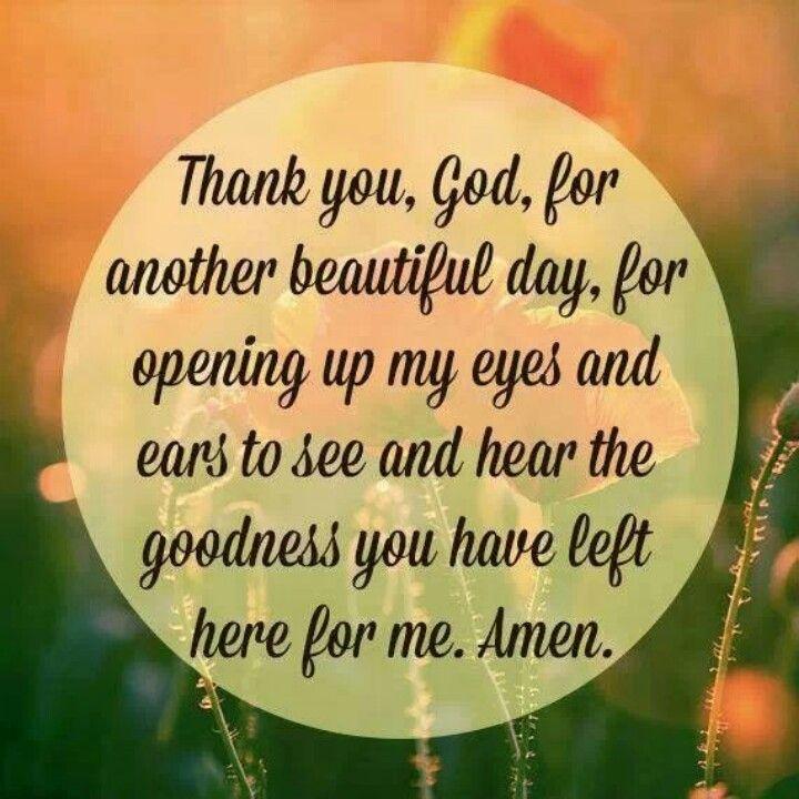 Thank you God!! | Prayers | Pinterest