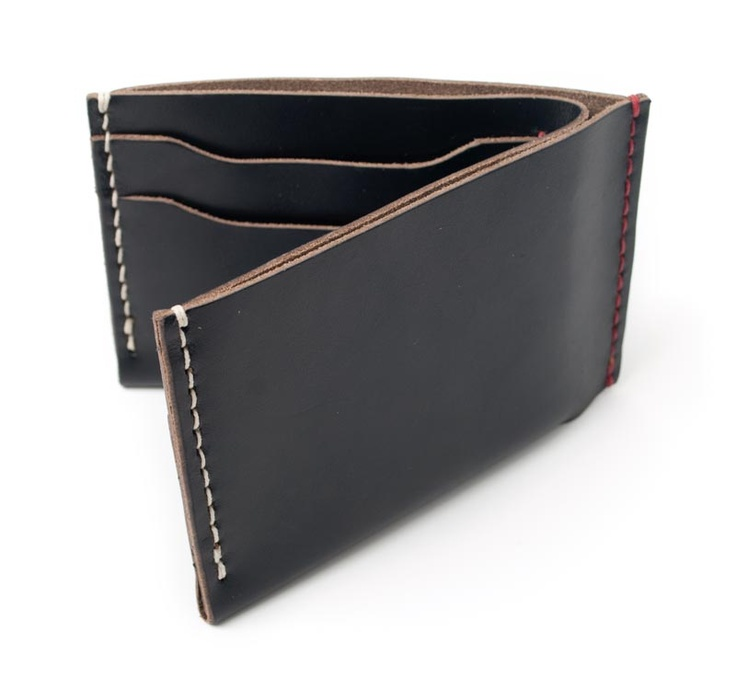 Bifold Wallet in Black Chromexcel