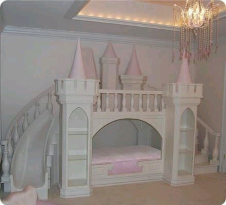 Really Cool Princess Bed I Desire Pinterest