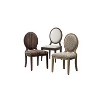 Oval backed dining chairs
