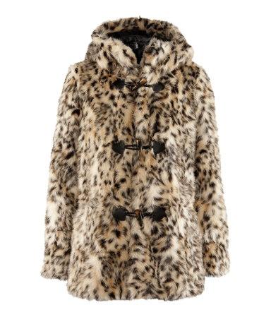 HM leopard jacket