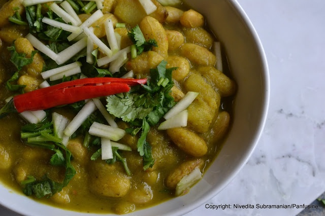 All green Cranberry bean curry | Gluten Free/Clean Eating | Pinterest