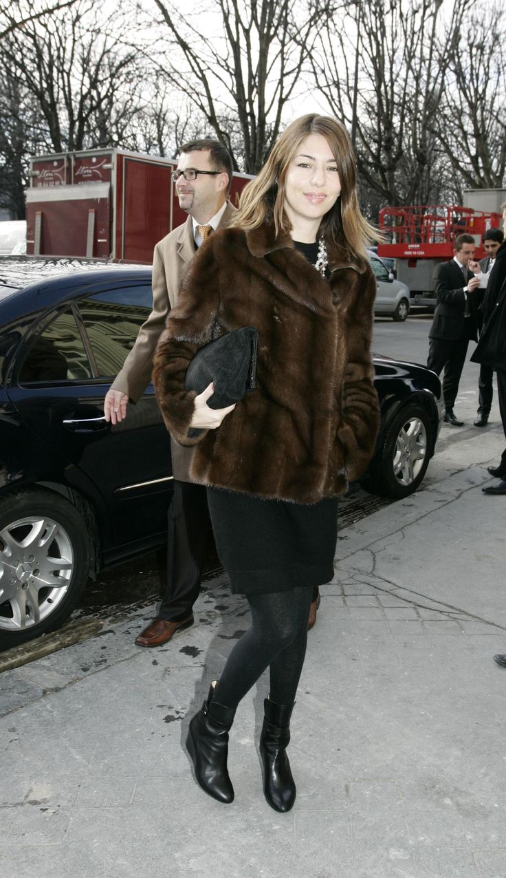 Sofia fur coat.