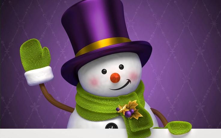 snowman | Purple | Pinterest