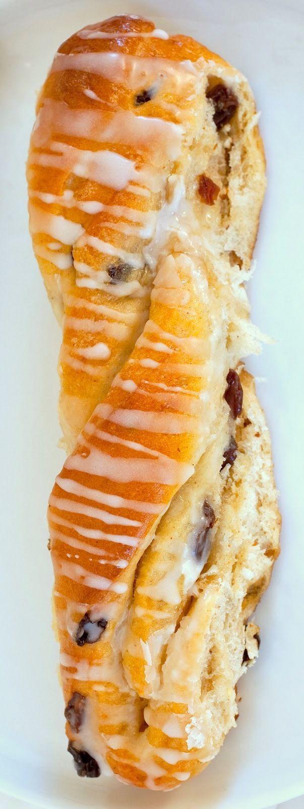 Cinnamon Raisin Twists | Breads & Muffins | Pinterest
