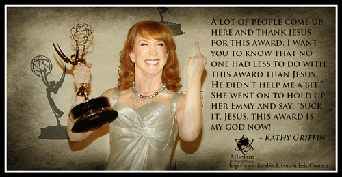 Kathy Griffins Jesus remark cut from