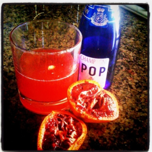 Blood Orange Mimosas! | Drinks | Pinterest